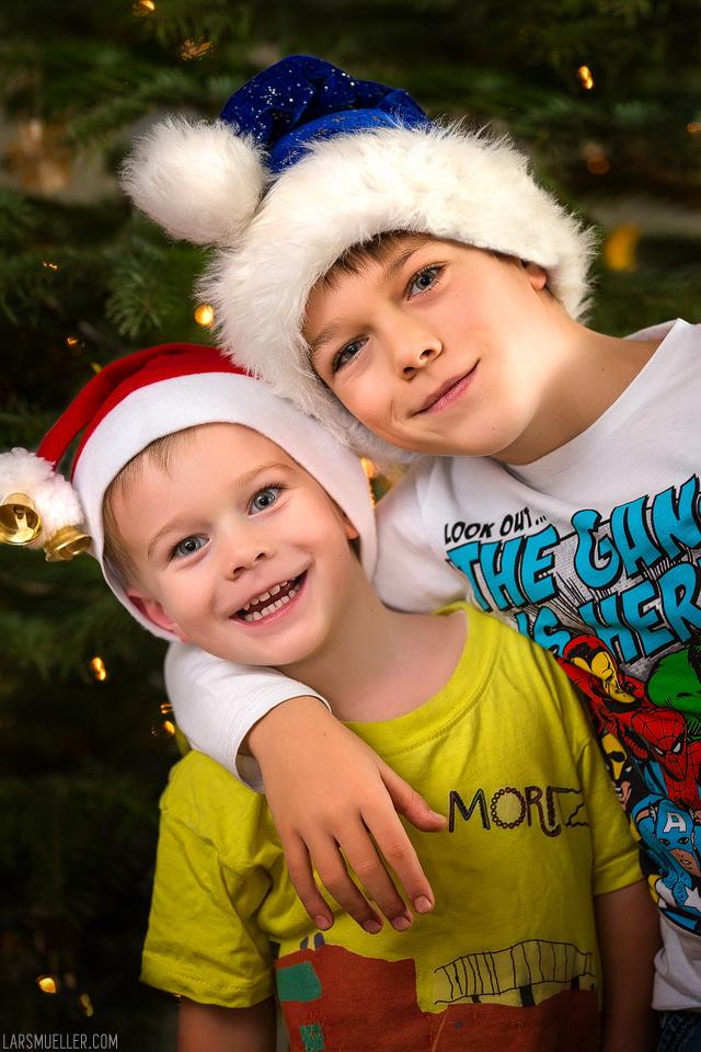 Peter und Moritz - Weihnachten 2015